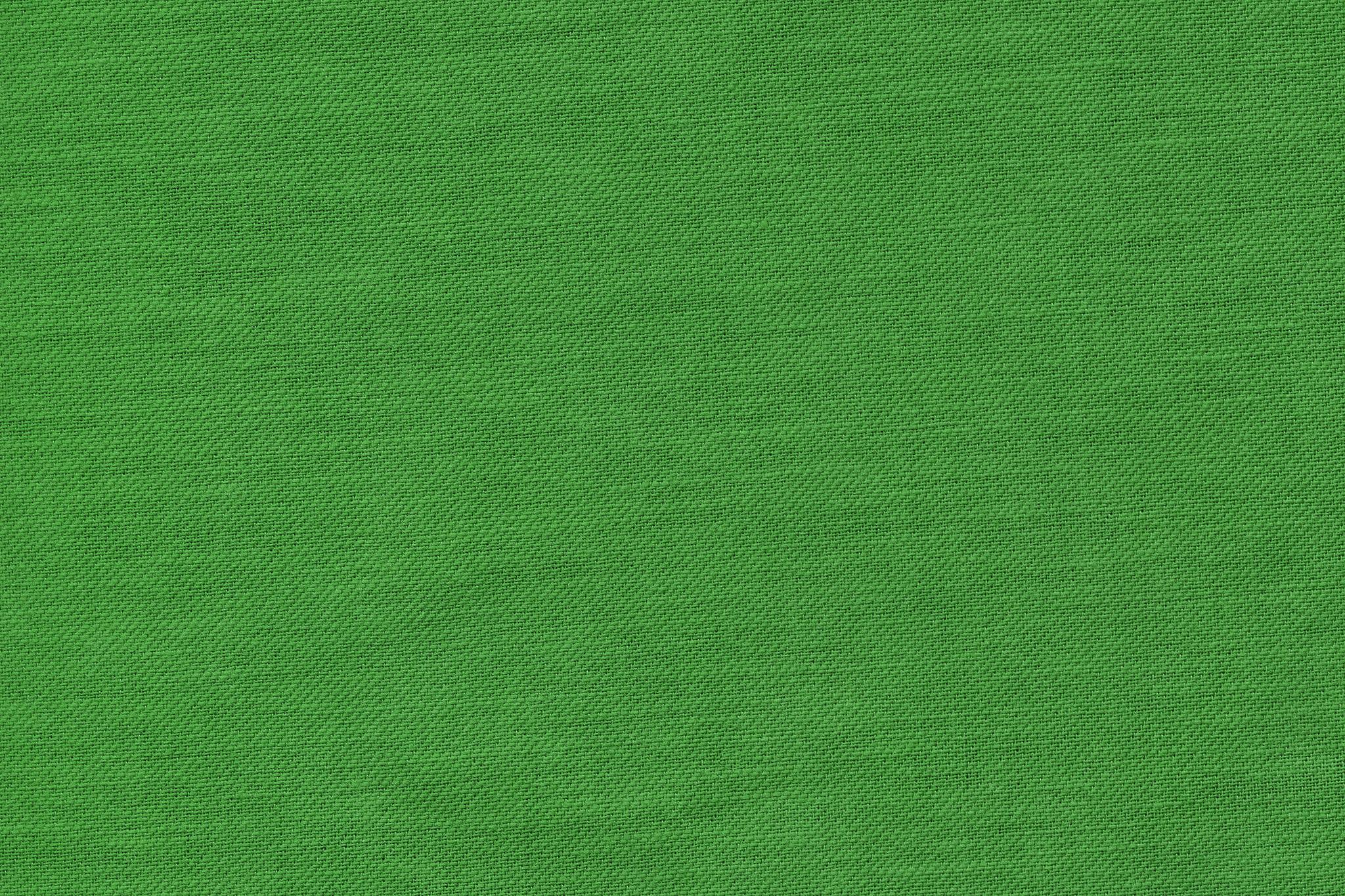 「緑色に染められた綿の布」の画像を無料ダウンロード