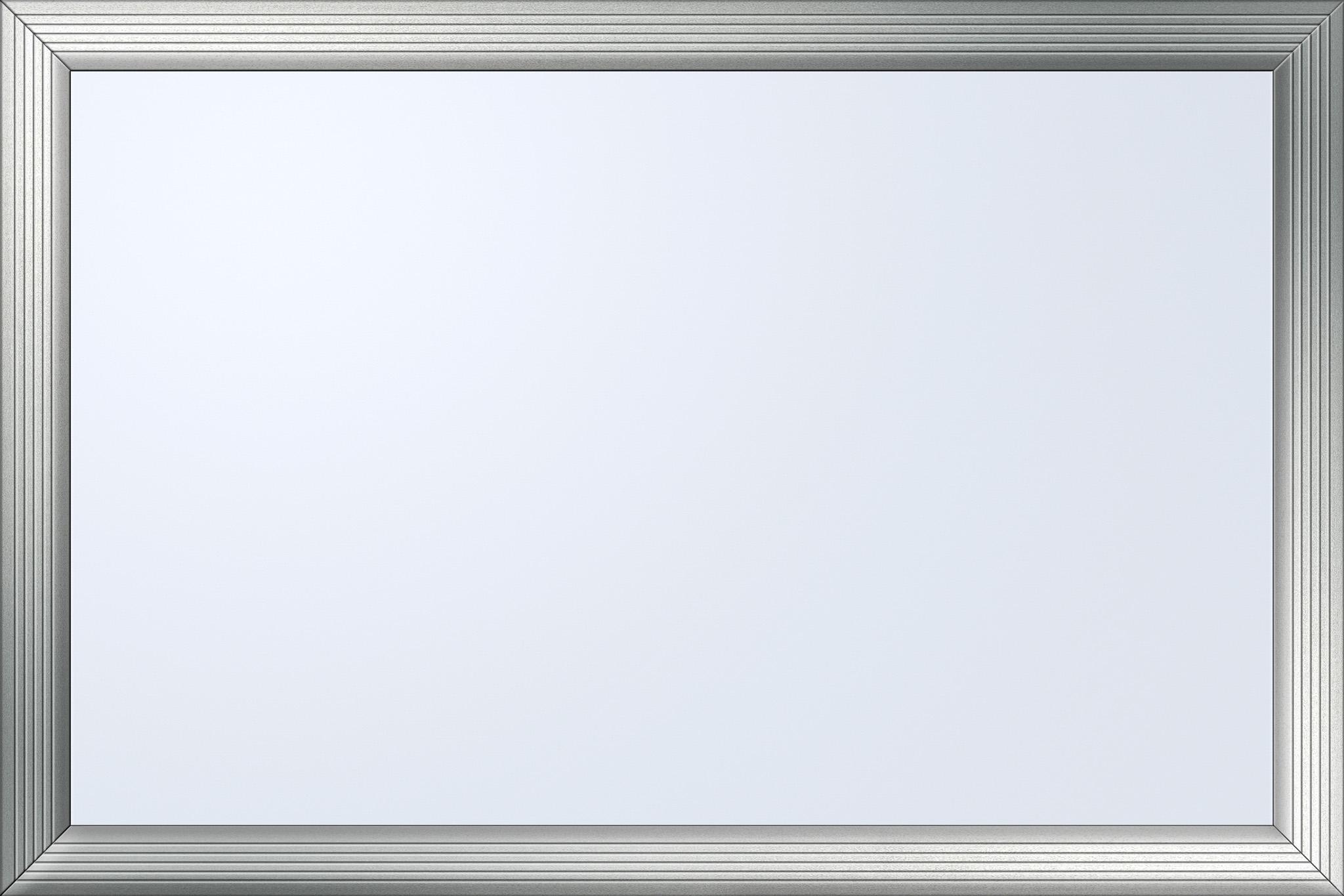 「シルバー枠のホワイトボード」
