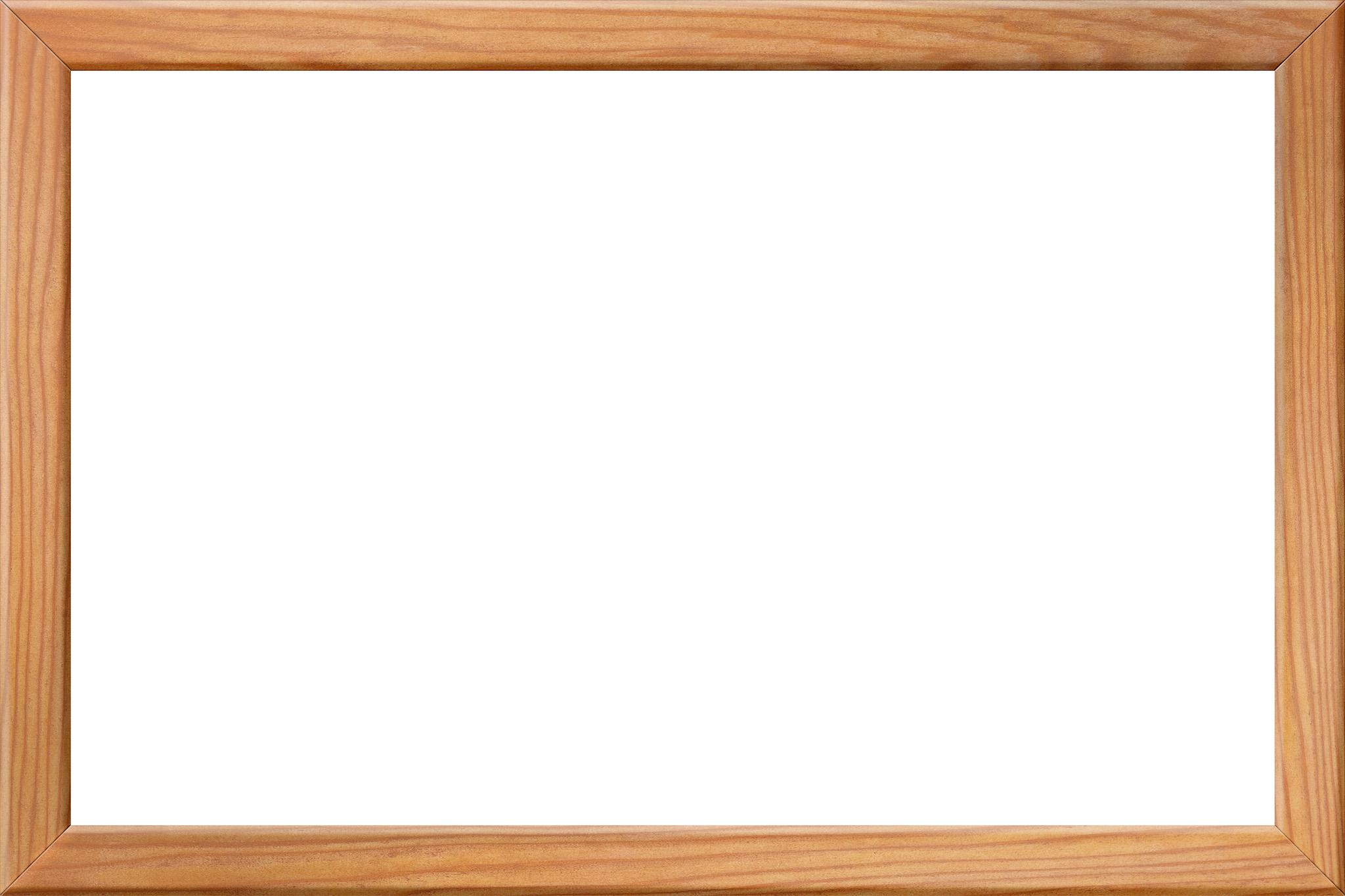 「木目が美しい木製の額縁」の画像を無料ダウンロード