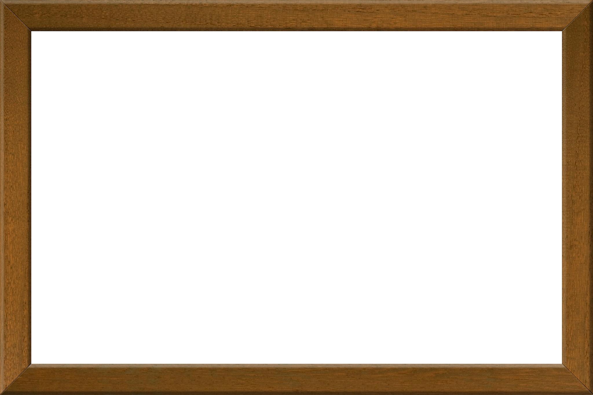 「茶色の木製素材の額縁」の画像を無料ダウンロード