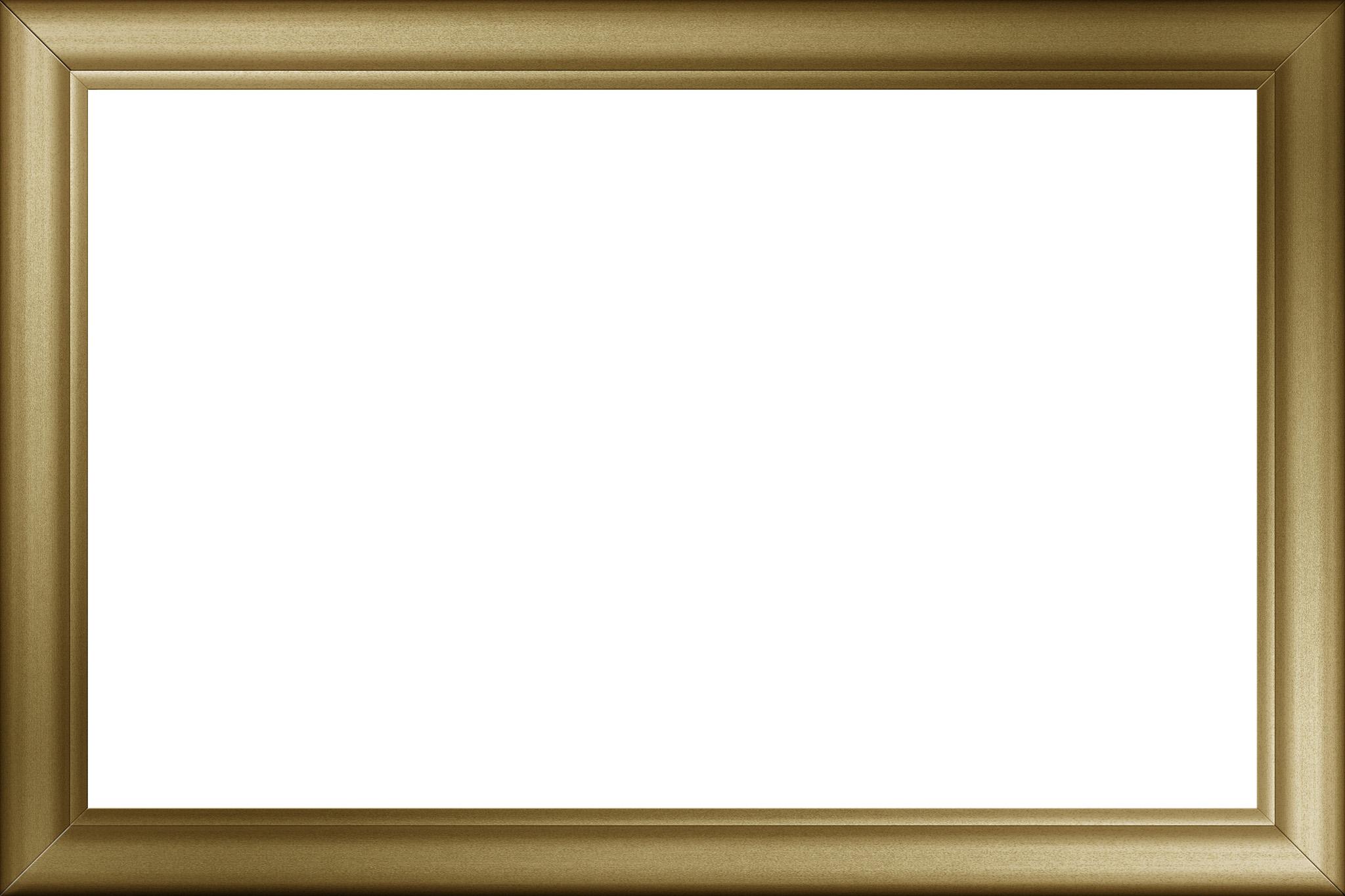 「高級感のある金色のフレーム」