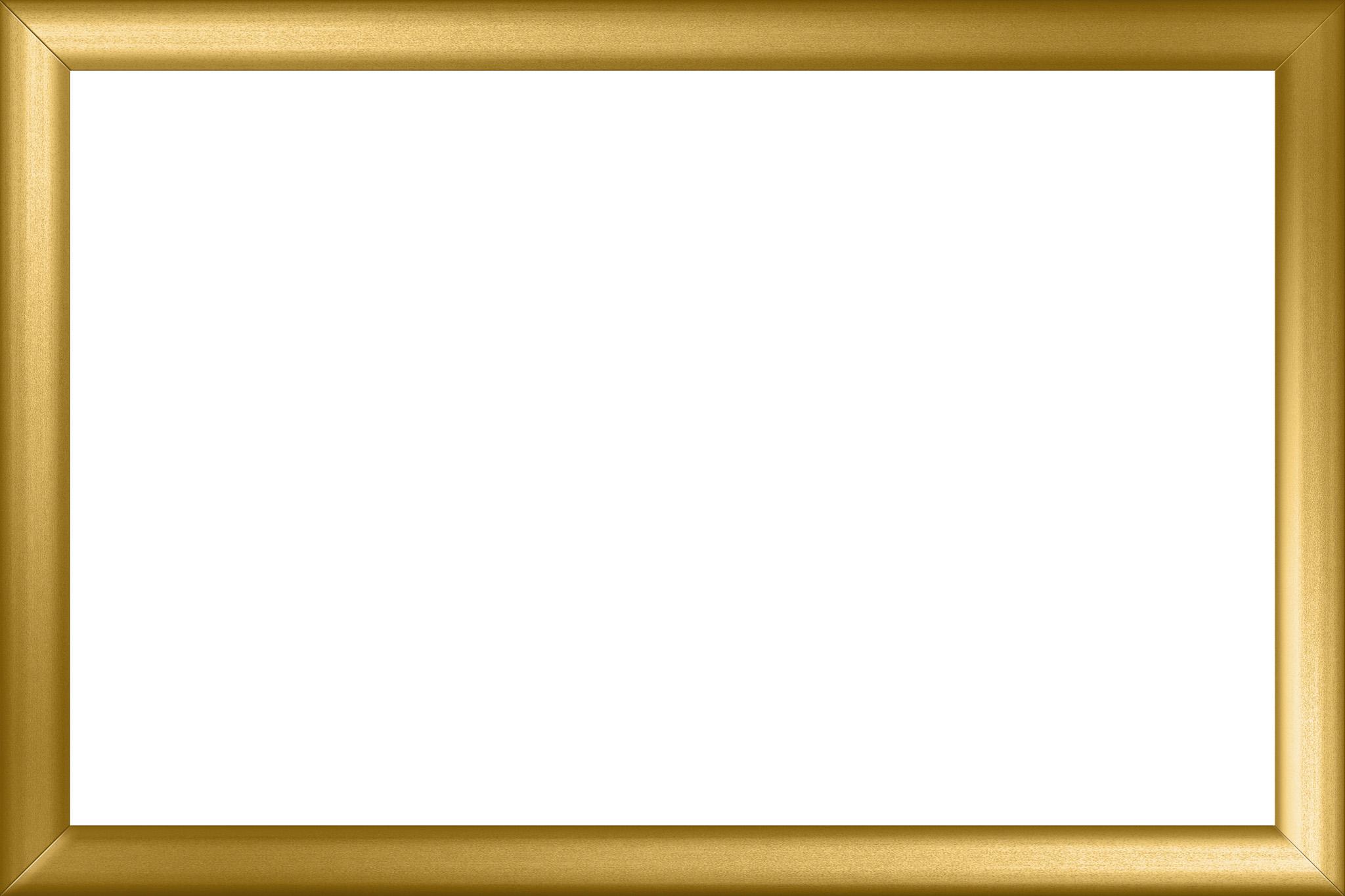 「華やかな金色の額縁」