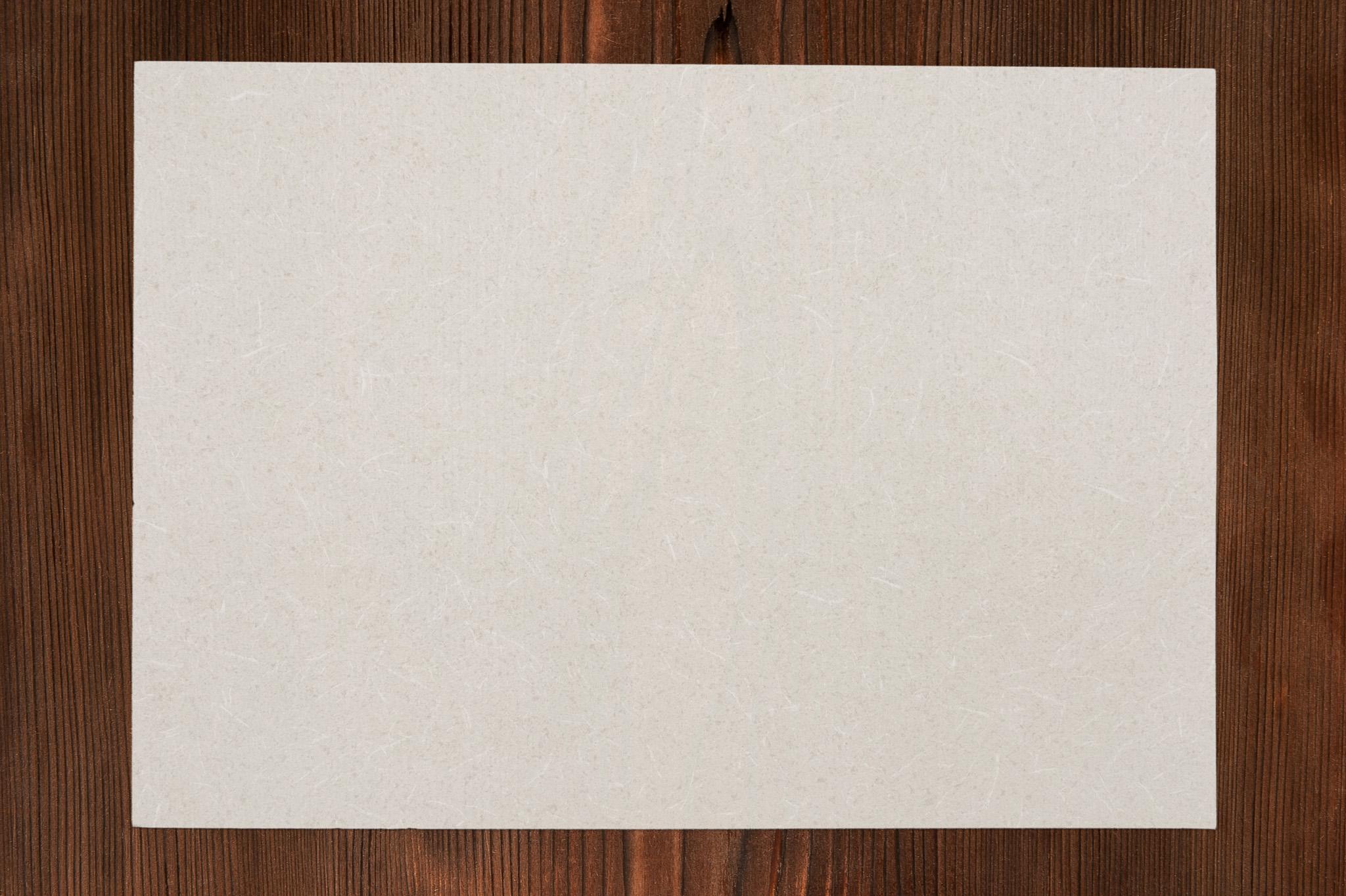 「古い木の板と和紙の背景」の背景を無料ダウンロード