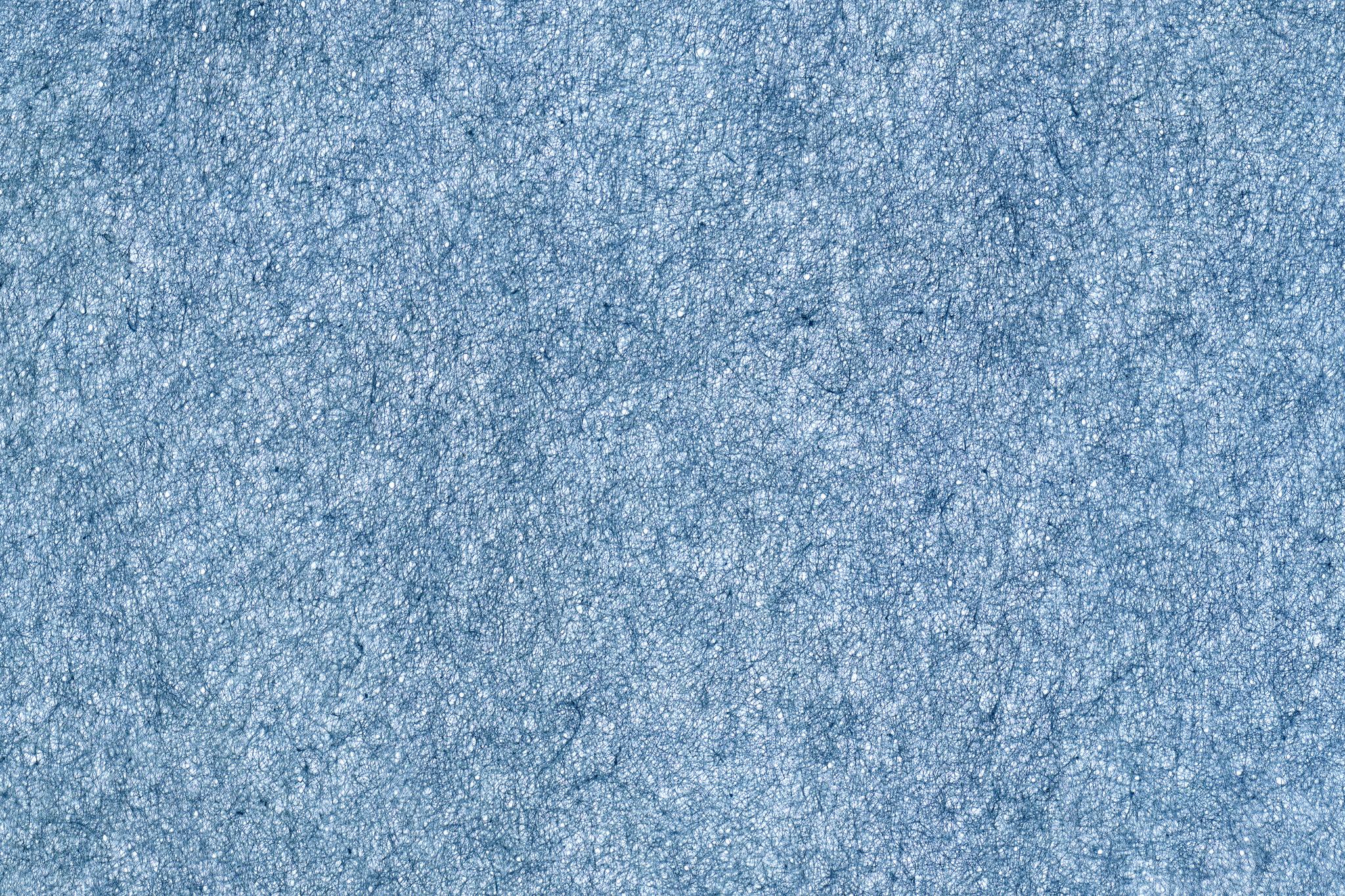 「青色の極薄和紙」の画像を無料ダウンロード