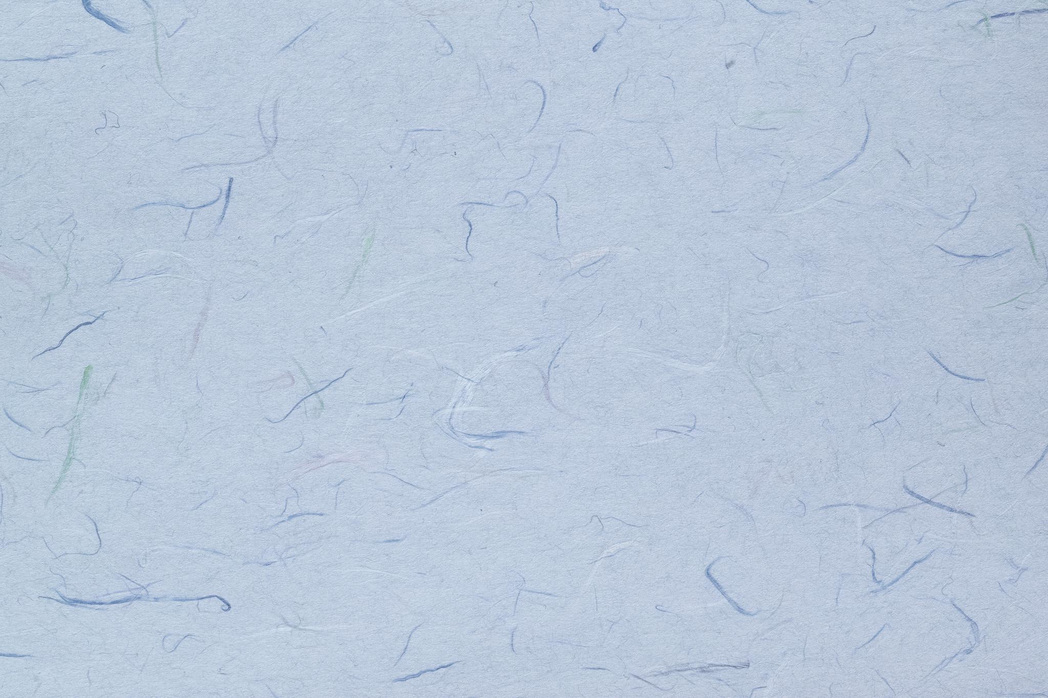 「色付楮が入った青藤色の和紙」の背景を無料ダウンロード