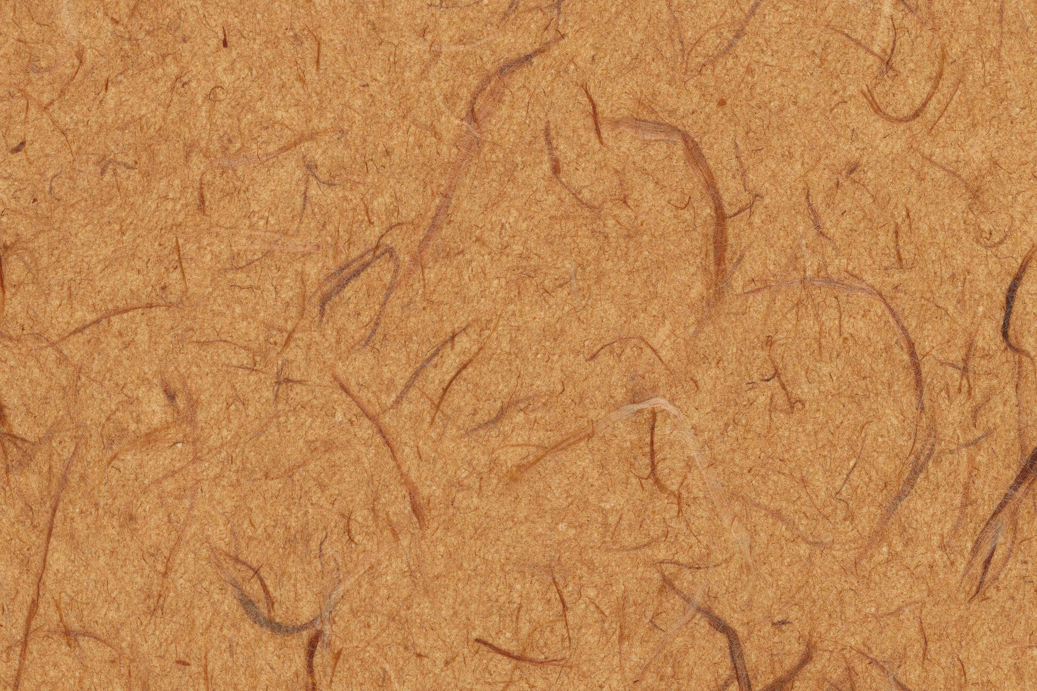 「伽羅茶色の荒いテクスチャの雲龍和紙」の背景を無料ダウンロード