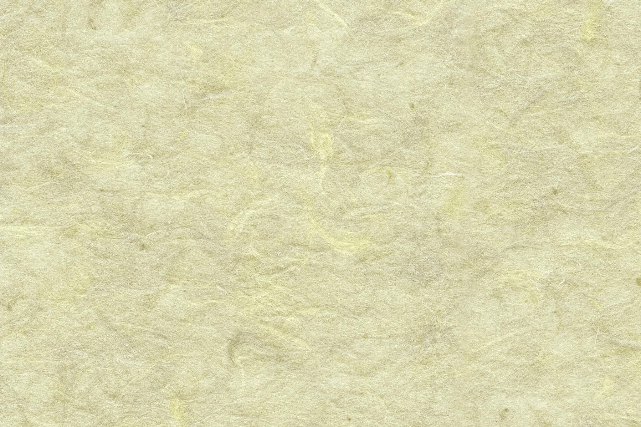 「楮の質感が浮き出た淡黄蘗の和紙」の背景を無料ダウンロード