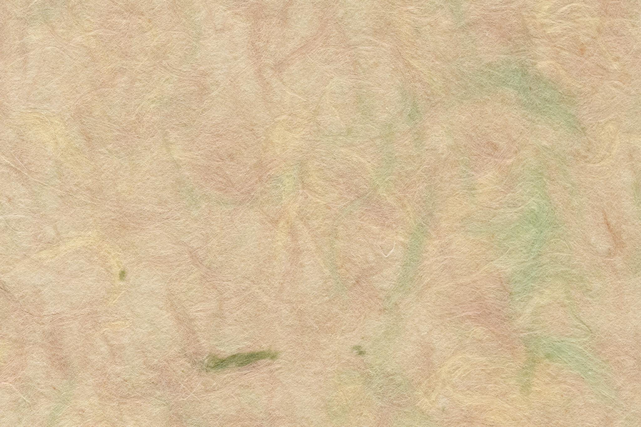 「色付き楮が透ける肌色の和紙」の背景を無料ダウンロード