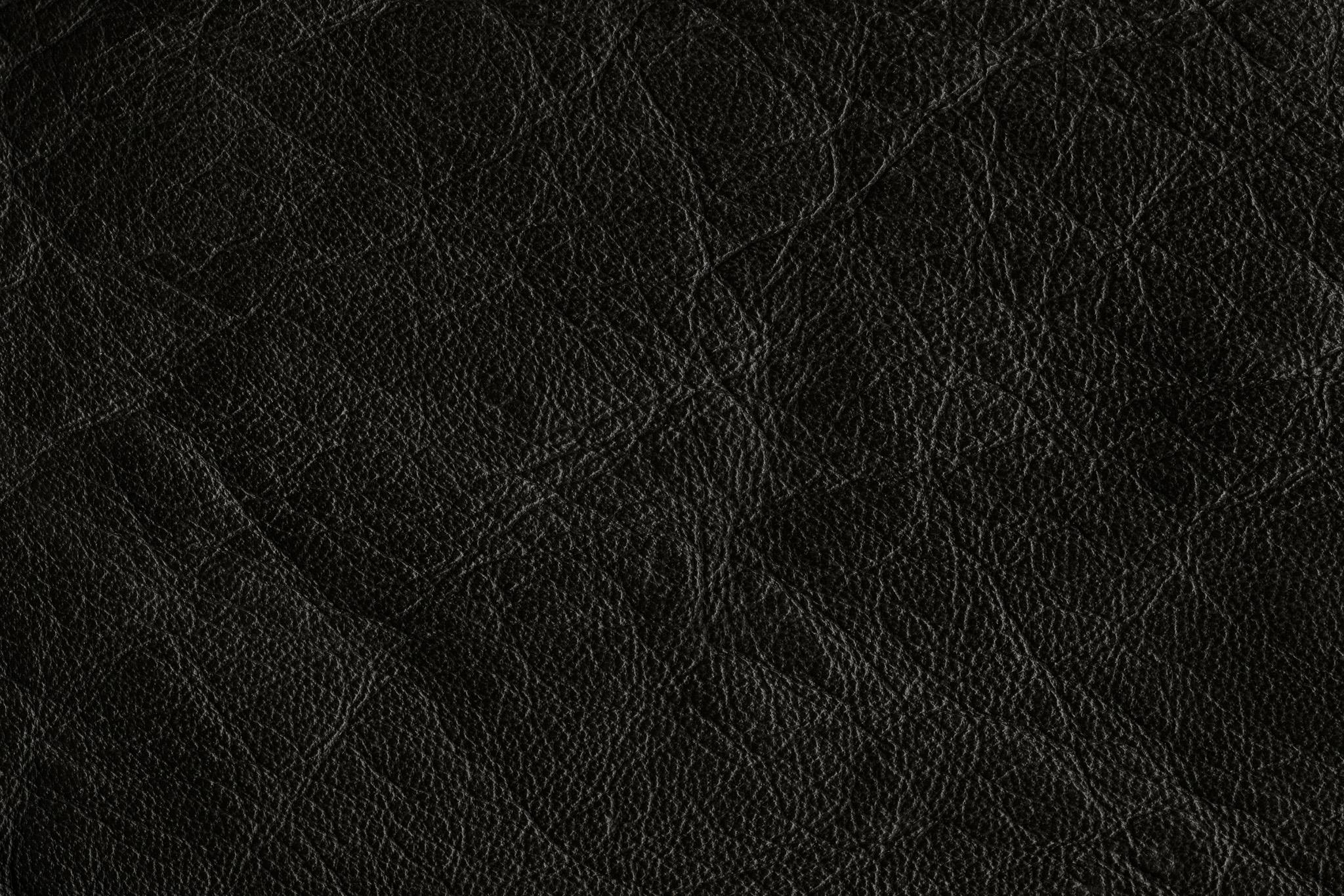 「ハードなイメージの黒いレザー」の素材を無料ダウンロード