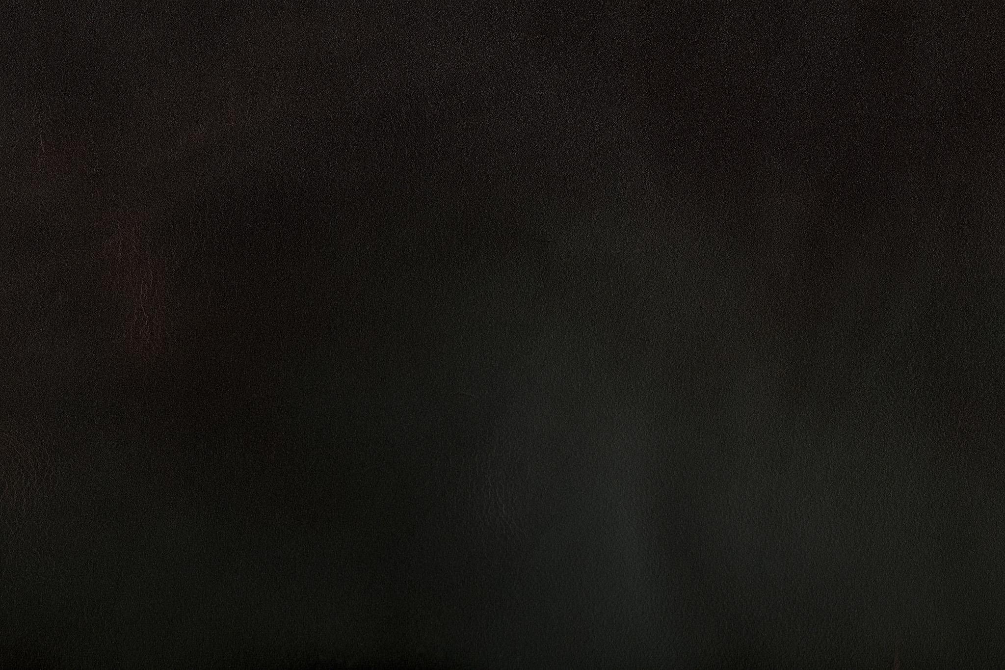 鈍い光沢のある黒い革素材