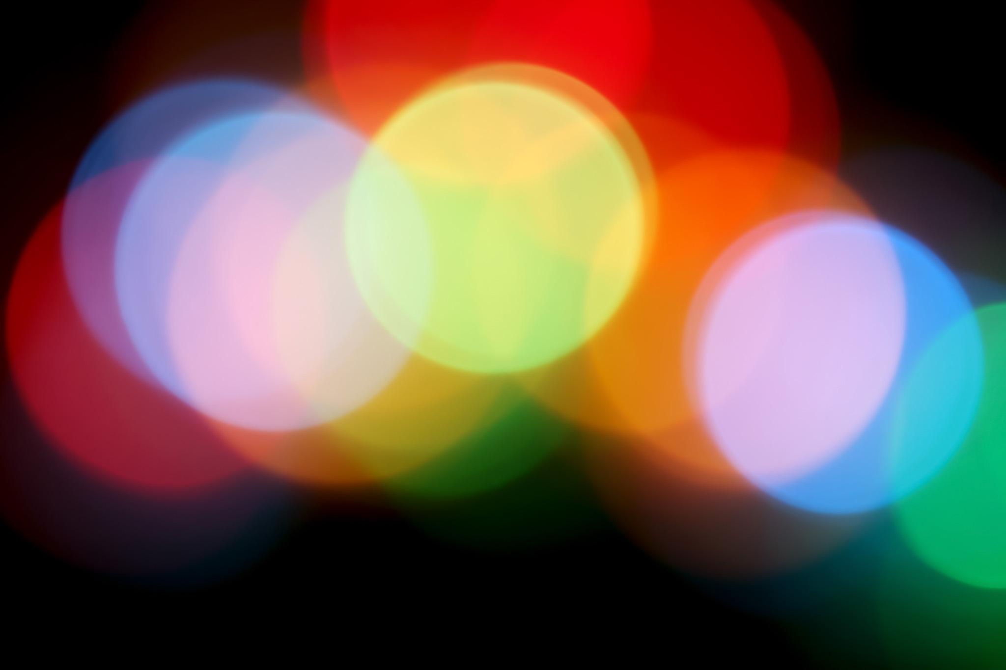「キラキラと輝く光」