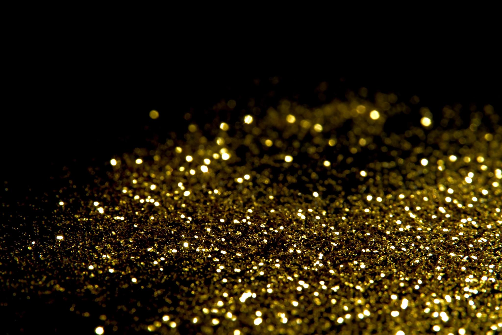「ゴールドのキラキラ」