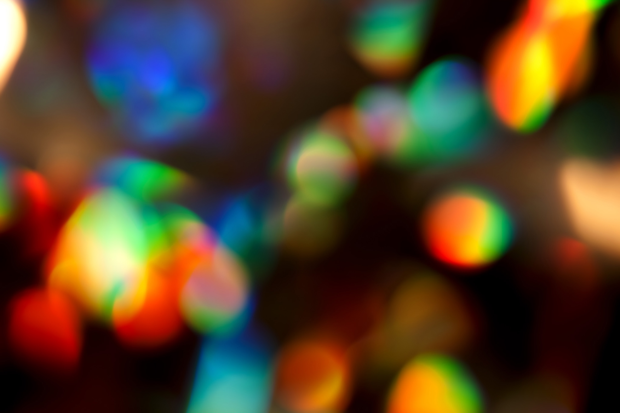 「キラキラとした虹彩」