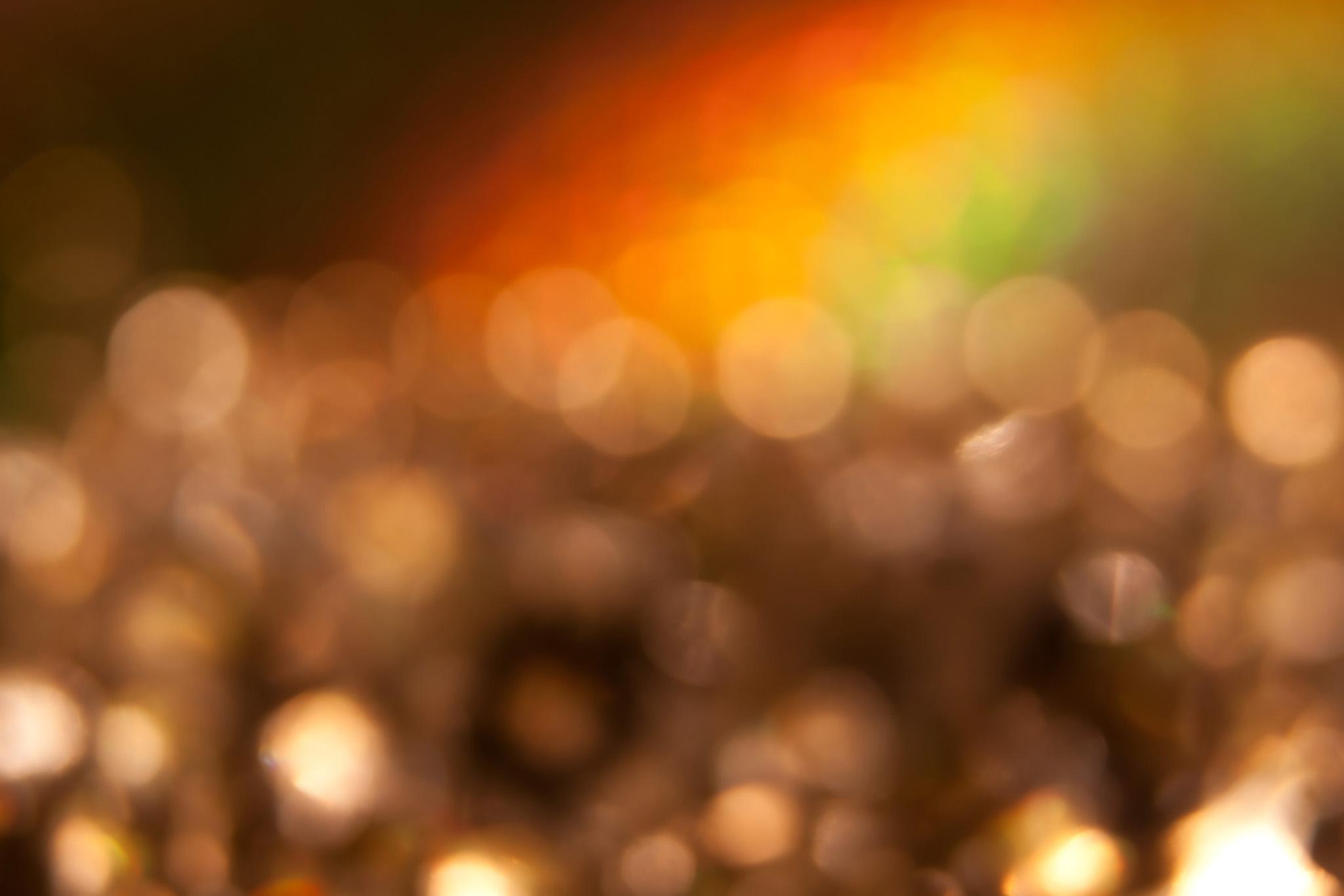 「キラキラの光の玉」