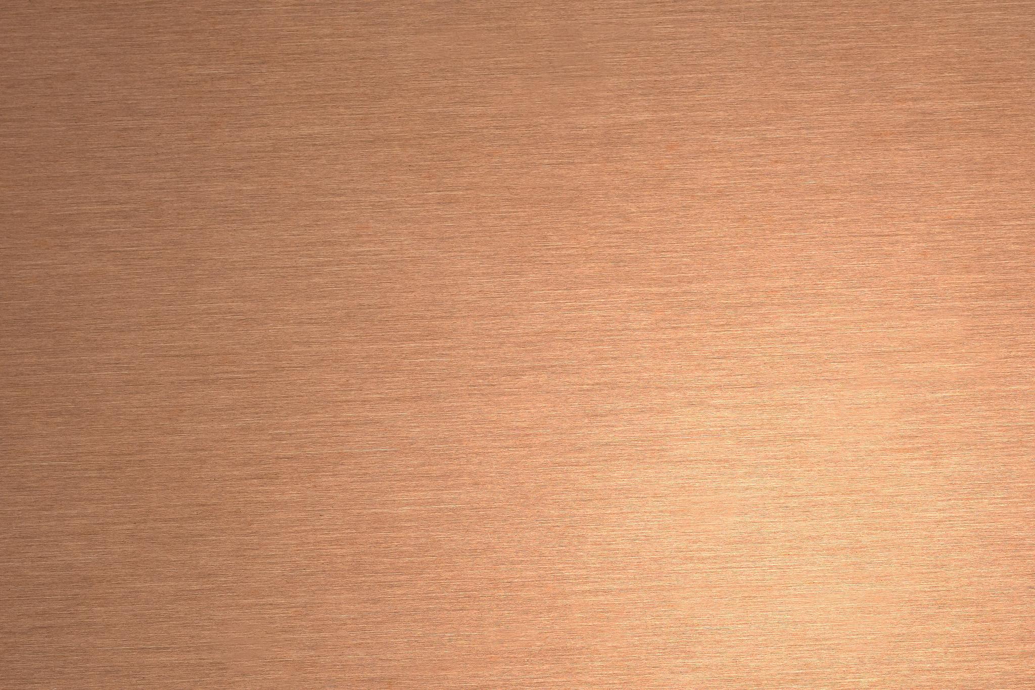 銅の細かなテクスチャ