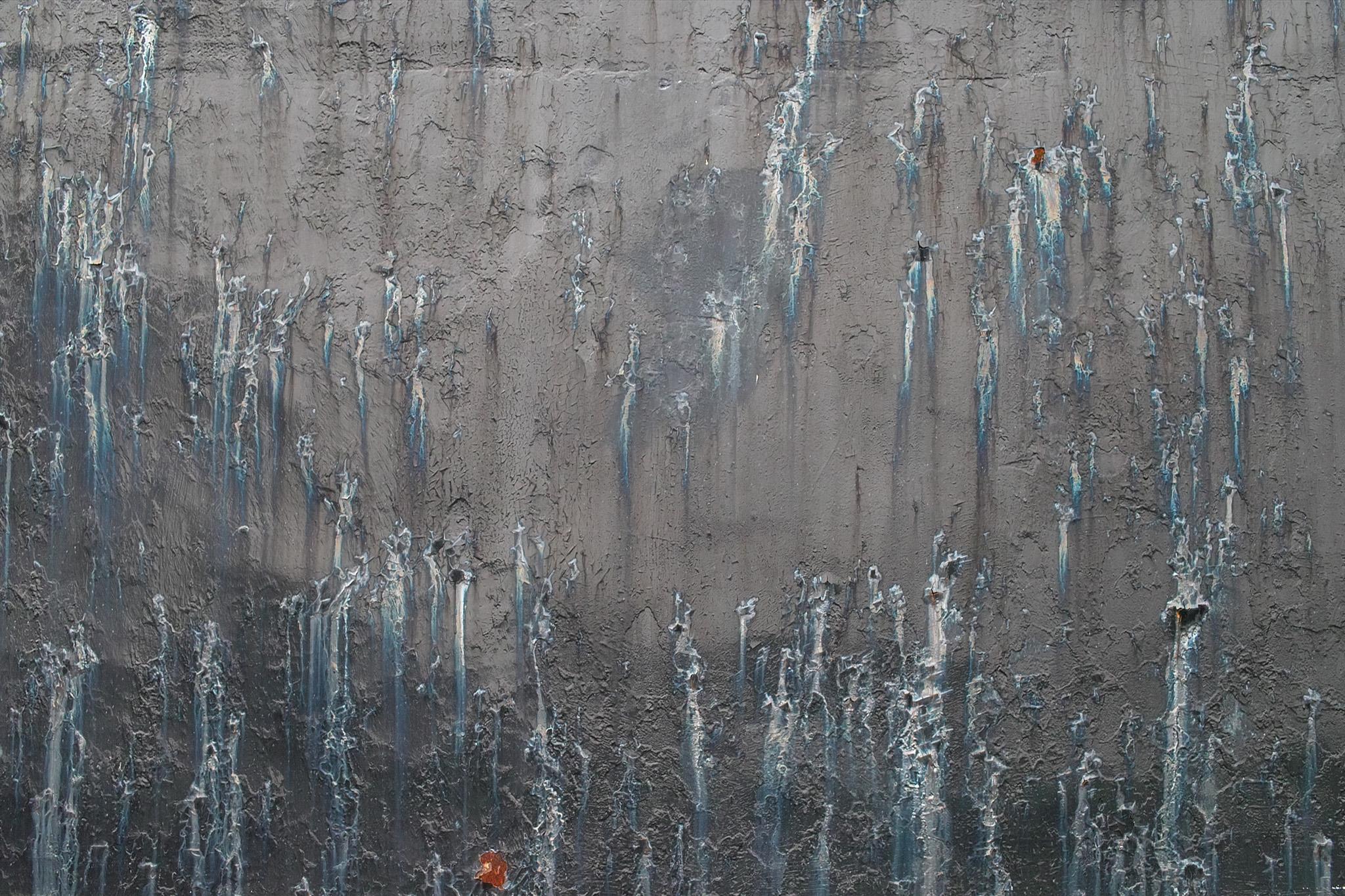 「汚れた金属の荒廃した背景」