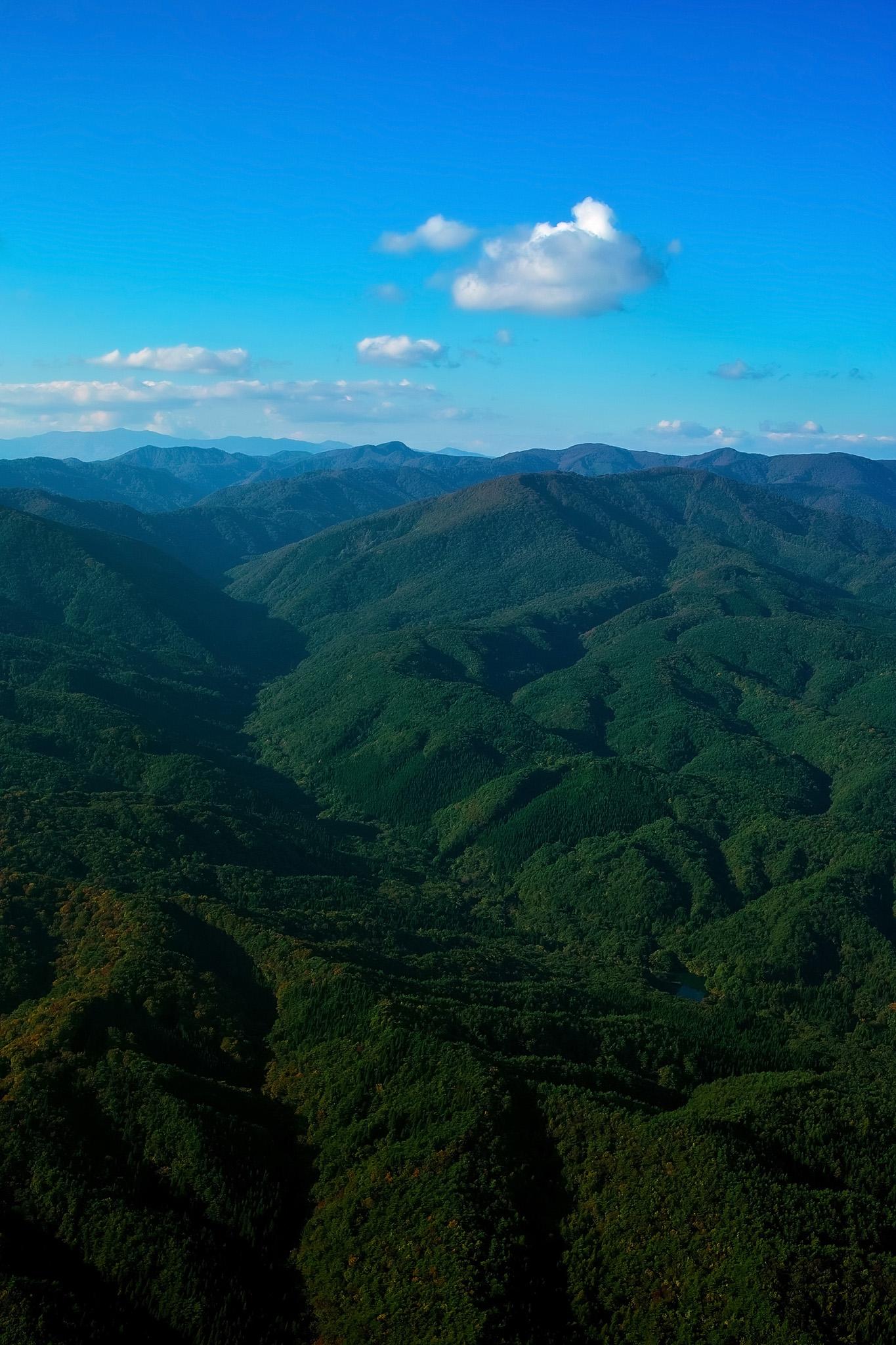 「山と空」