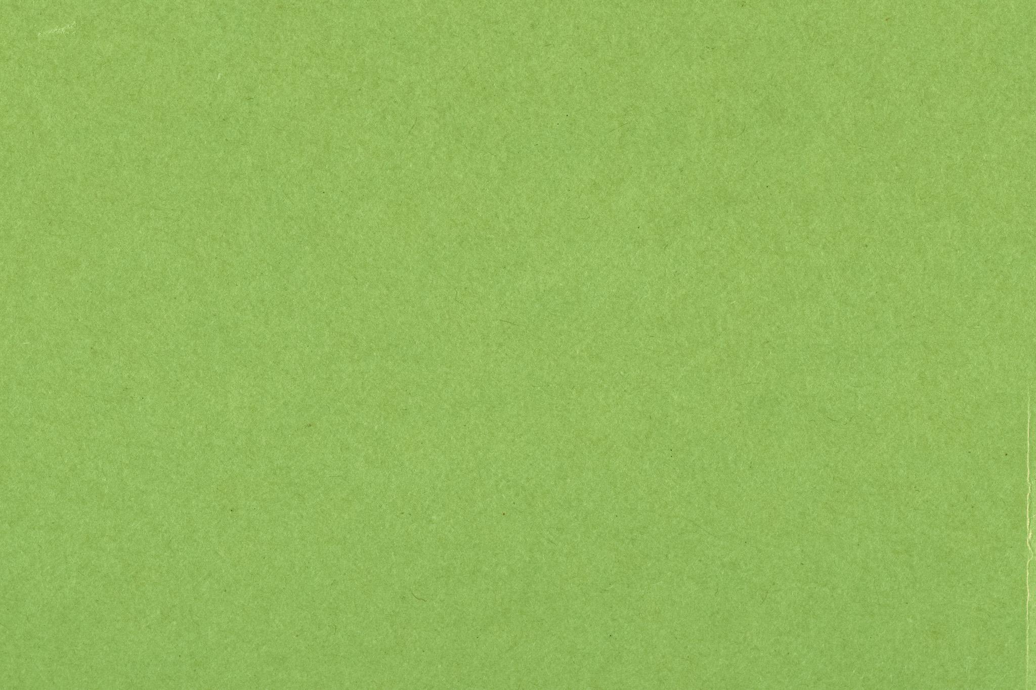 「若草色の紙のテクスチャ」の画像を無料ダウンロード