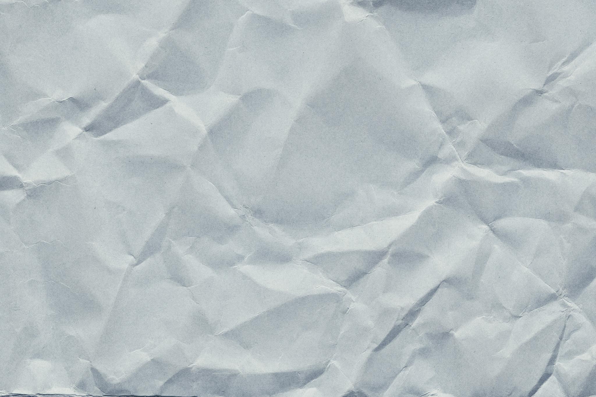 「グレーの厚手紙のシワ」の素材を無料ダウンロード