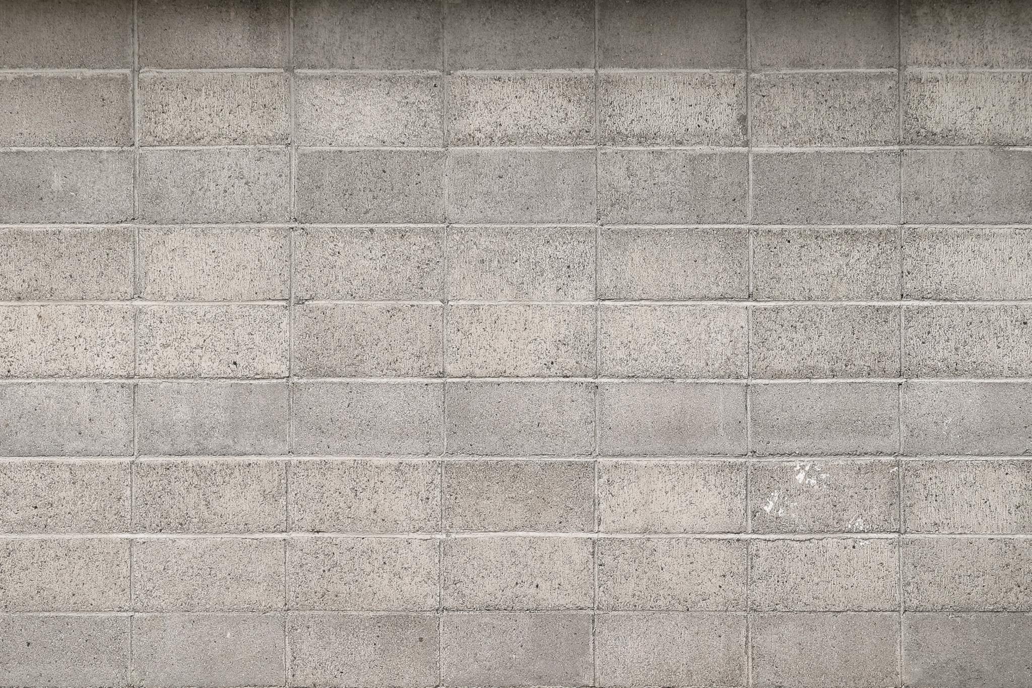 「ブロック塀の背景素材」のテクスチャを無料ダウンロード