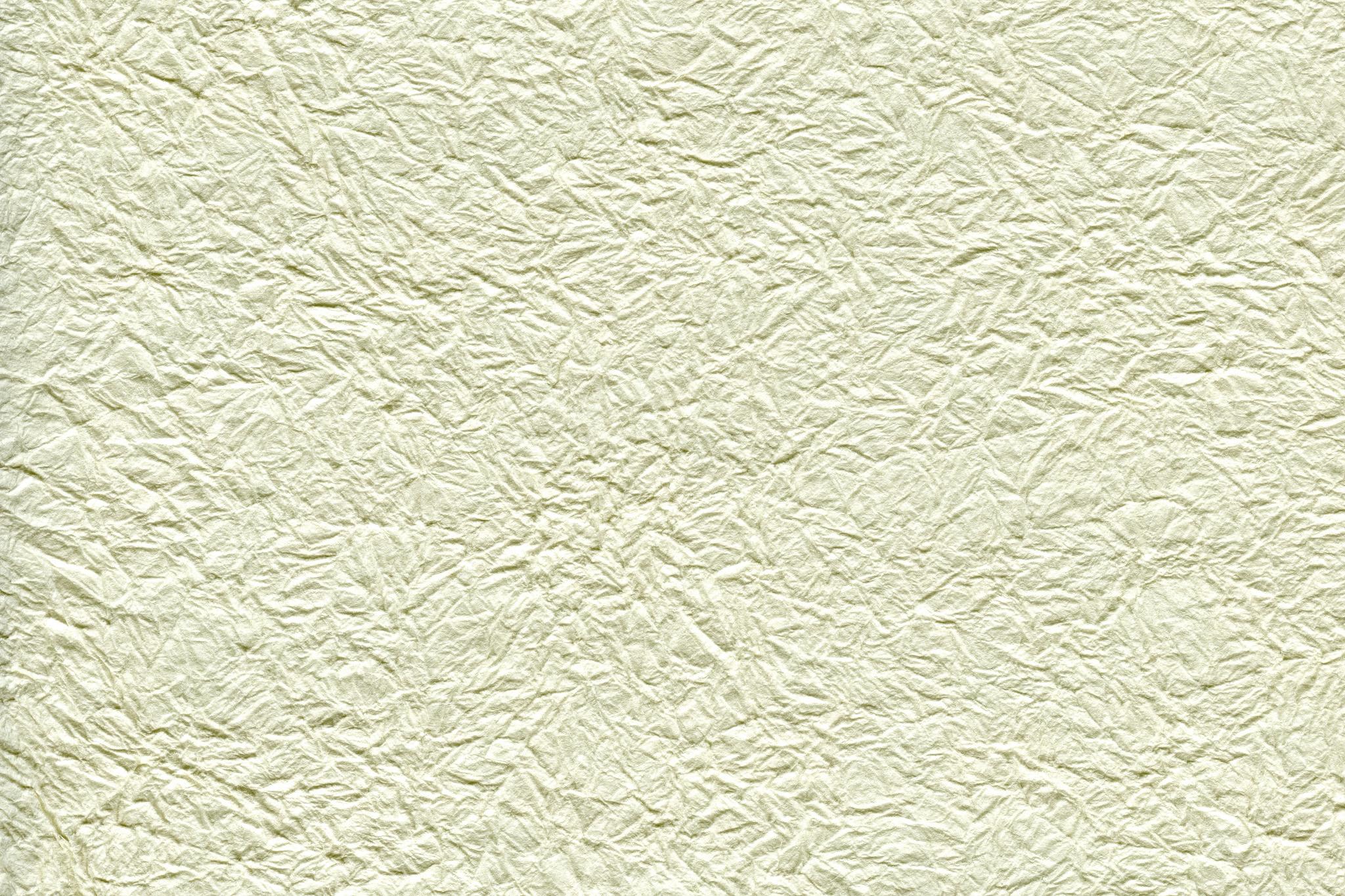 シワがある白い紙の質感