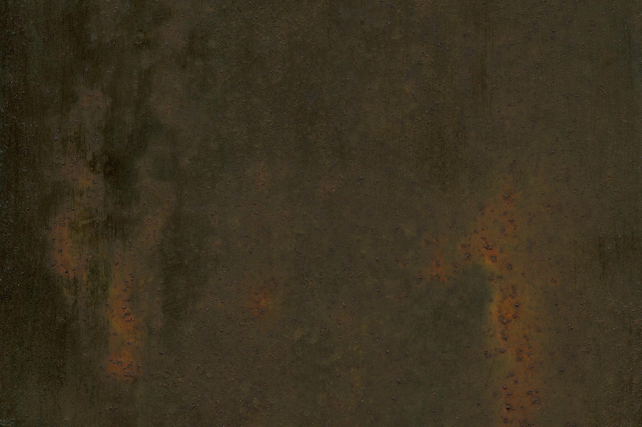 「赤錆が浮いた鉄の素材」