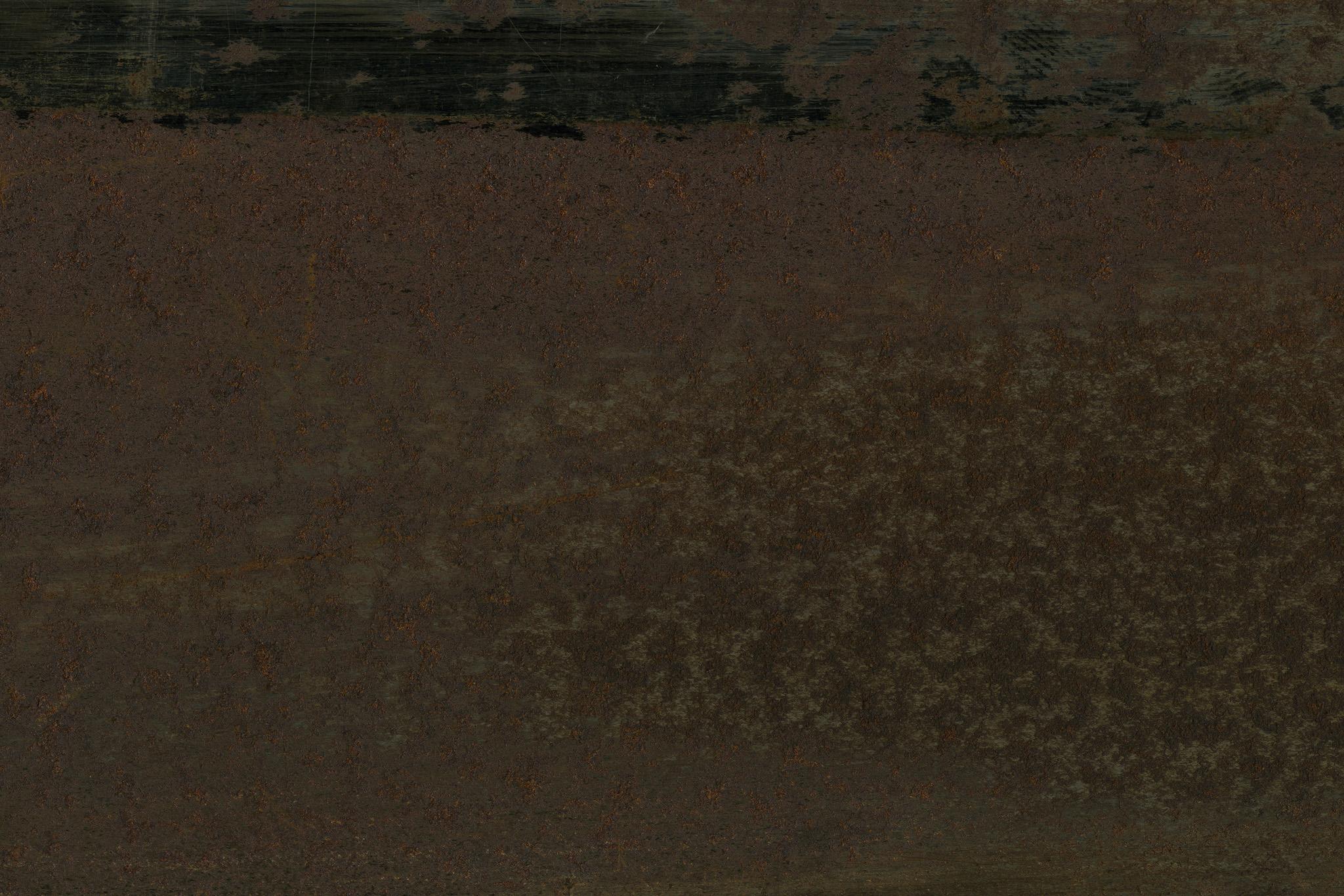 サビと汚れで腐食した金属