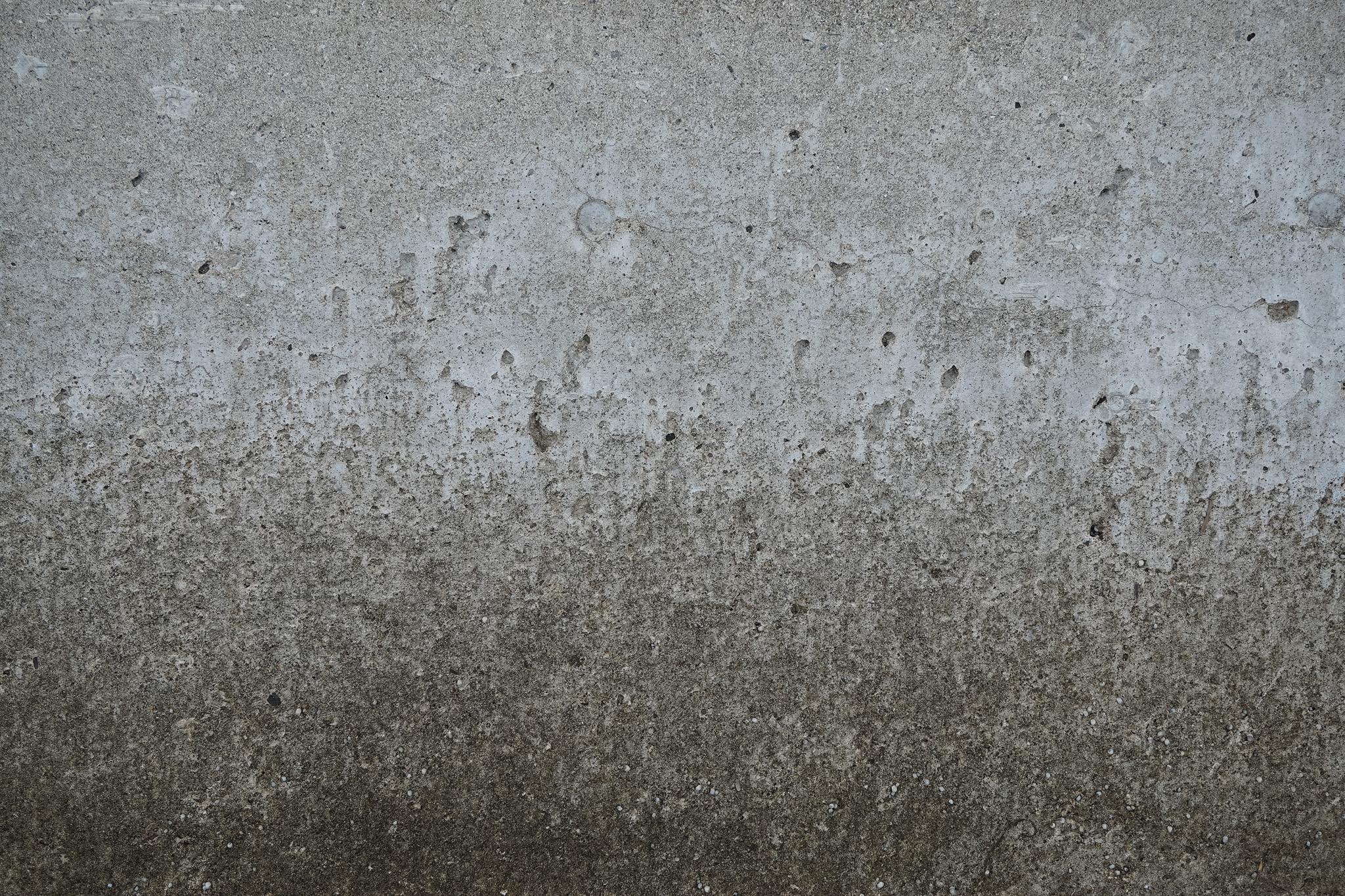 腐食しかけたコンクリート