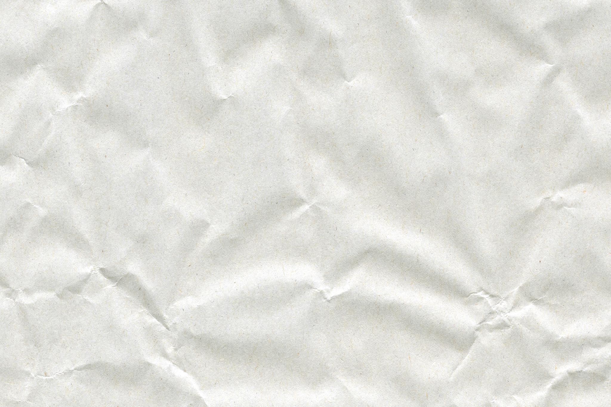 モコモコとした白い紙の質感