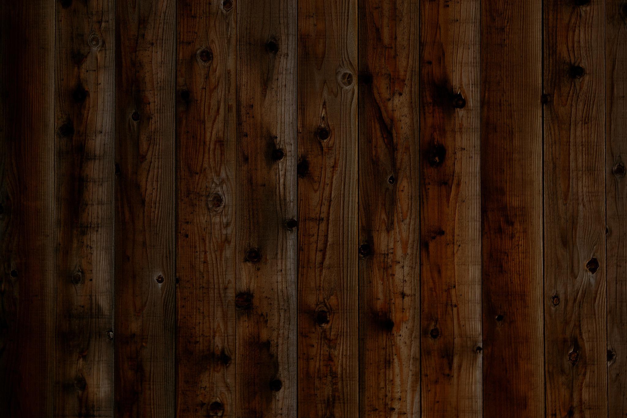 「和風の板の塀」