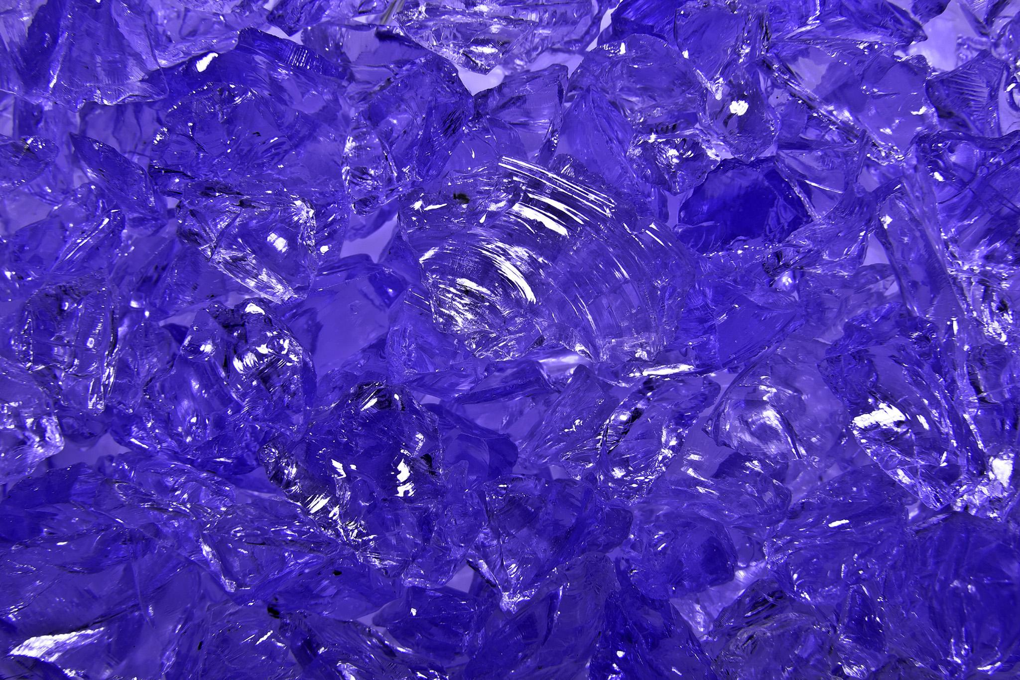 キラキラのガラス