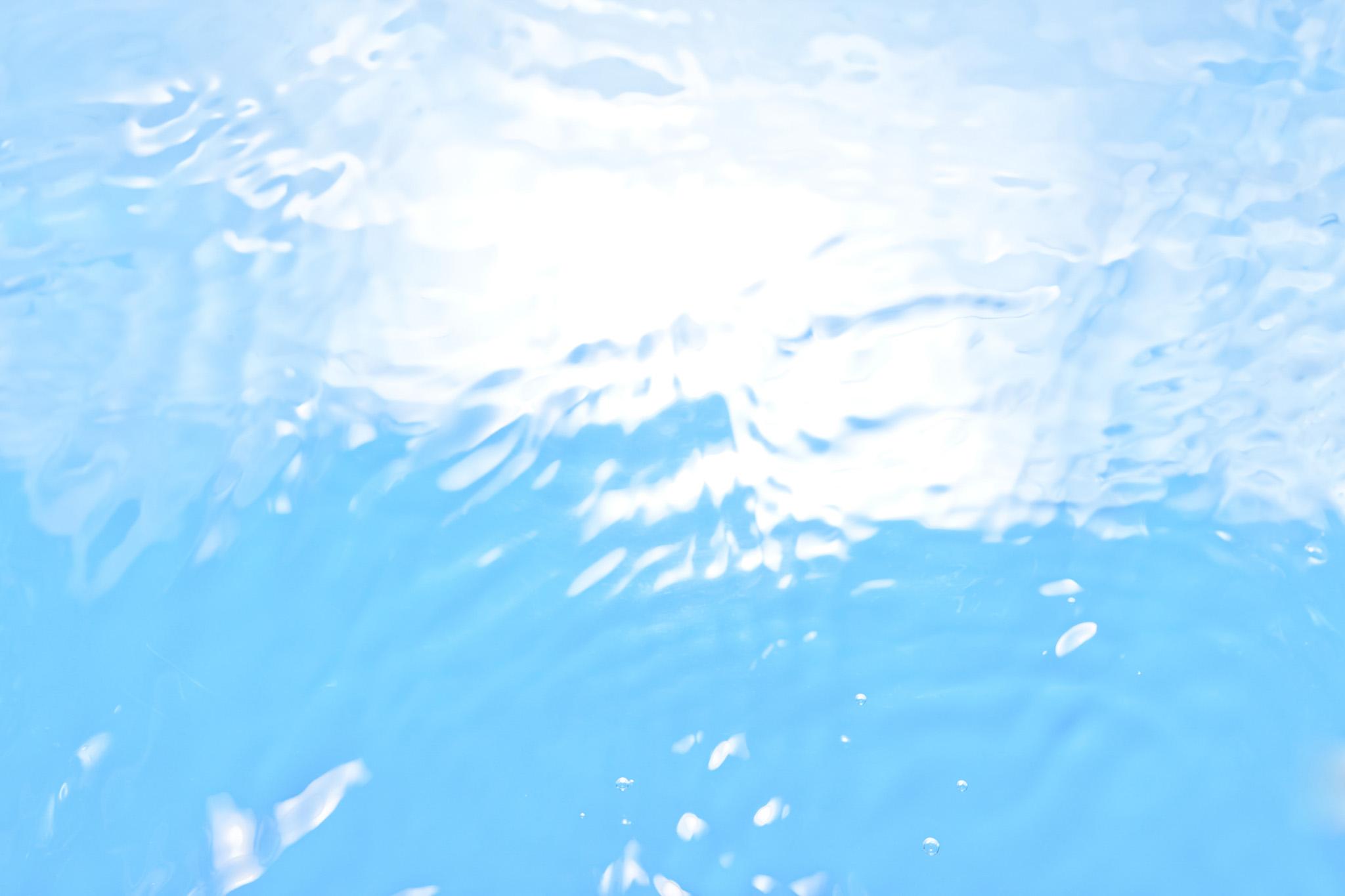 輝く綺麗な水のテクスチャ