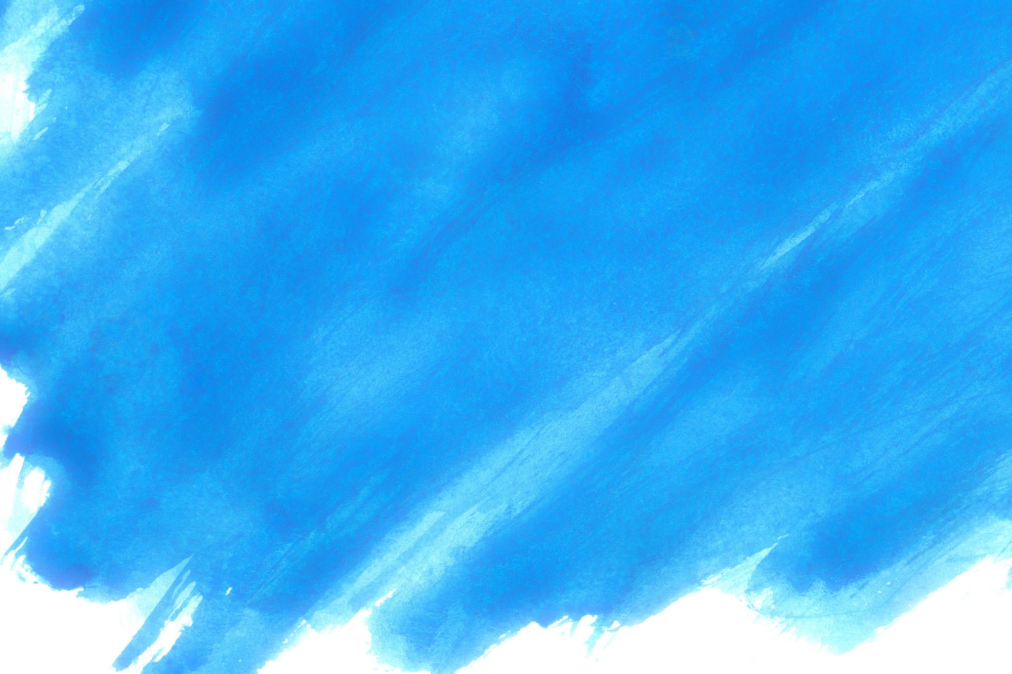 「筆で塗ったスペクトラムブルー」