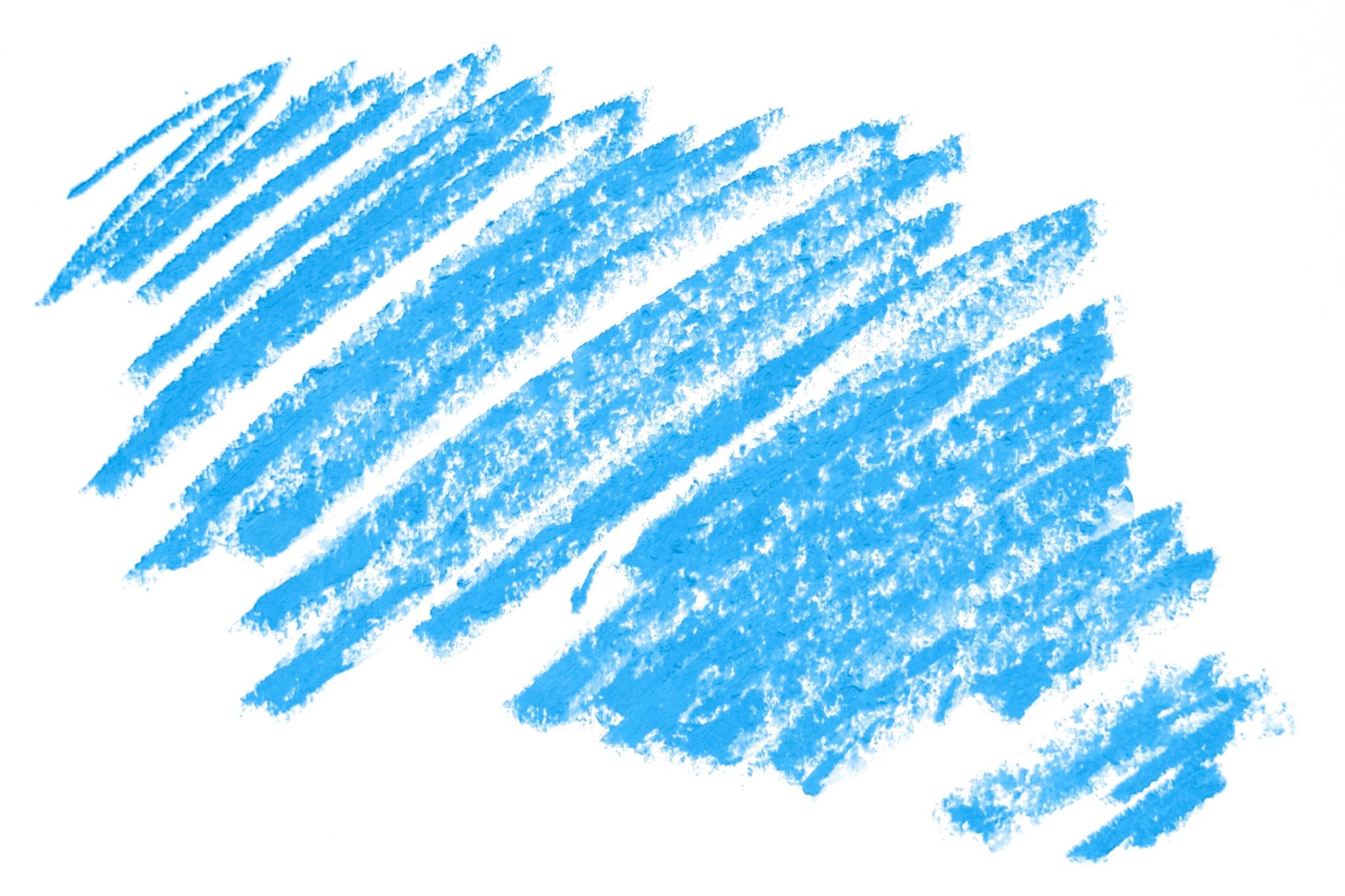 「空色のクレヨンのテクスチャ」
