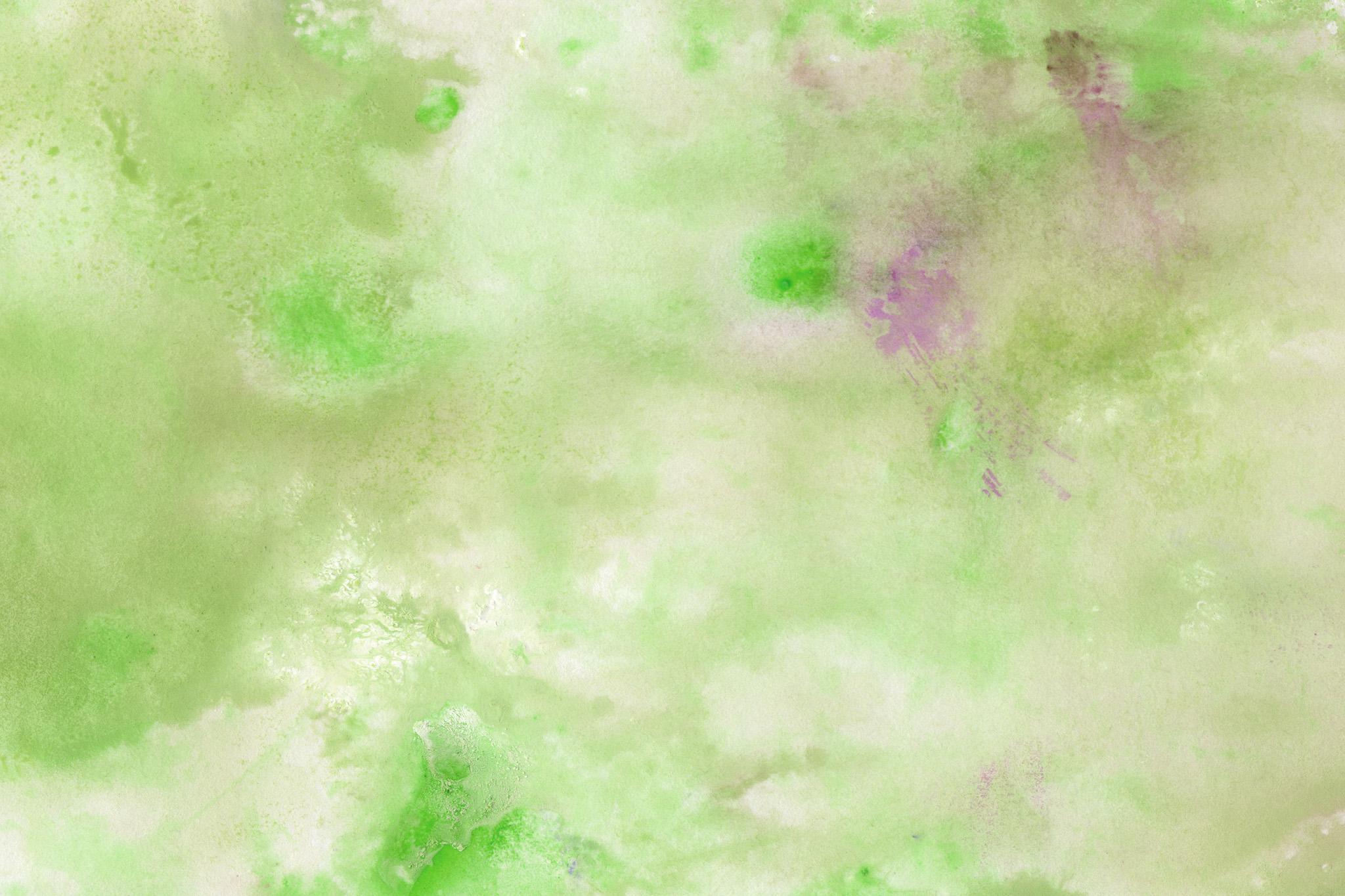 「野原のような水彩模様の背景」