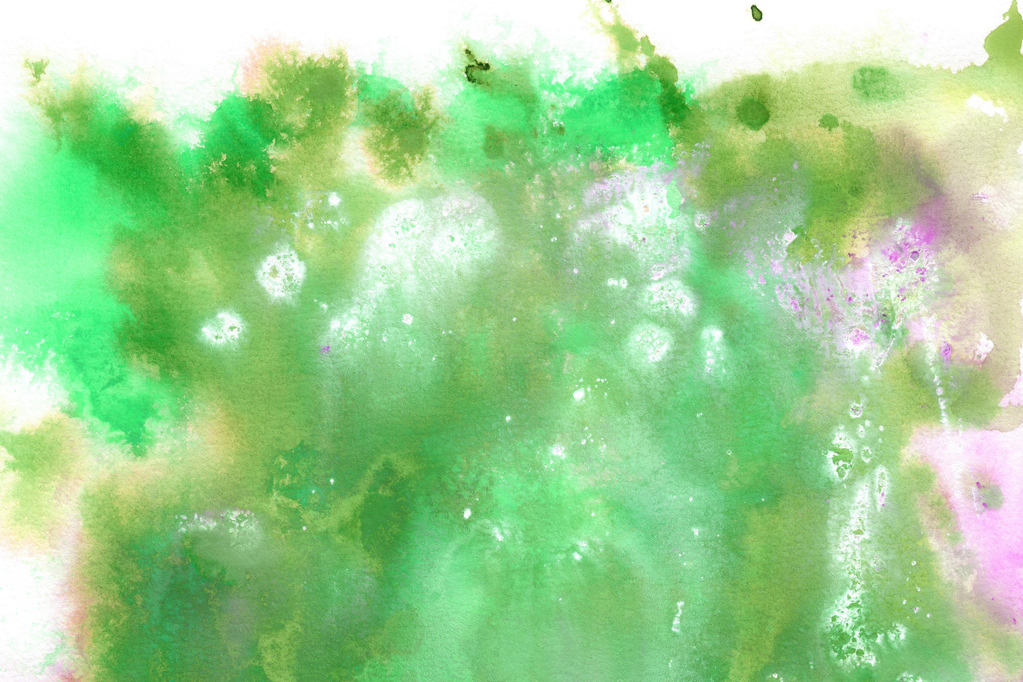 「野に咲く花のような水彩イメージ」
