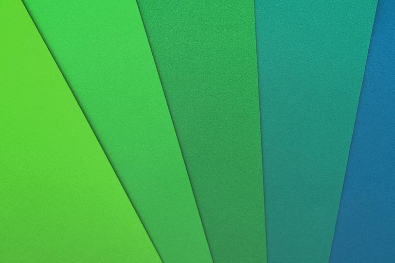 グリーン系の背景素材の写真画像