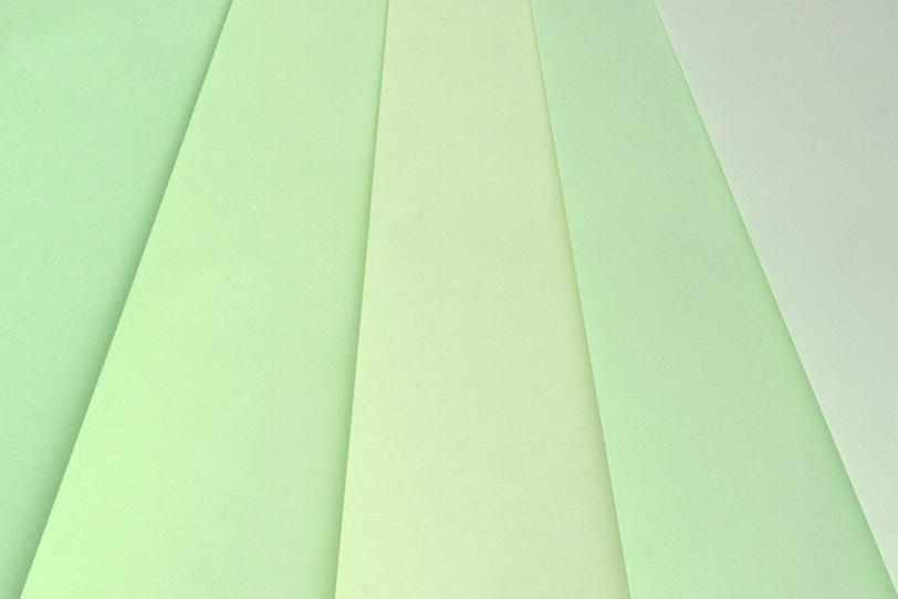 淡いグリーンのバックグラウンドの写真画像