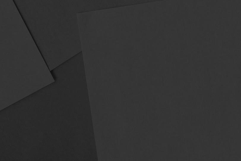 かわいい黒色のシンプルな画像