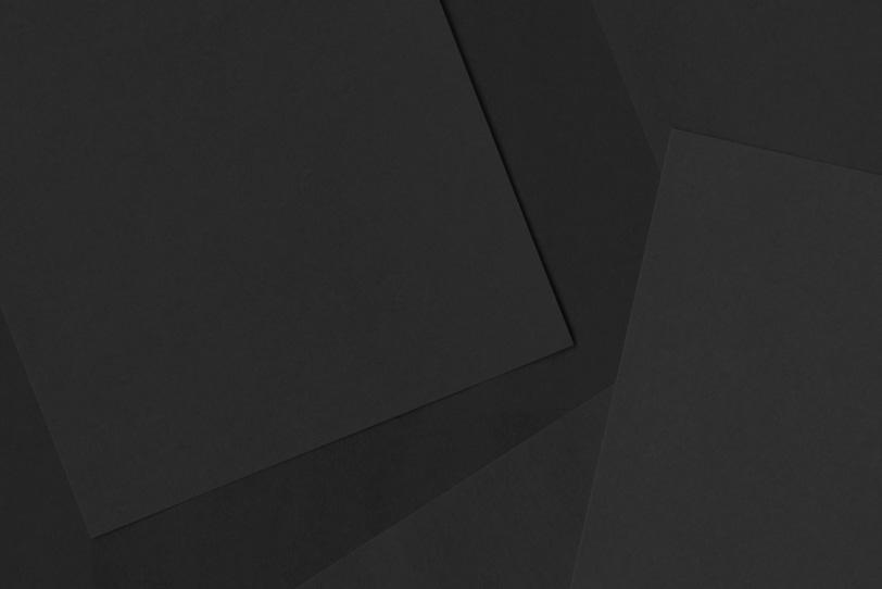 黒のシンプルでカワイイ素材