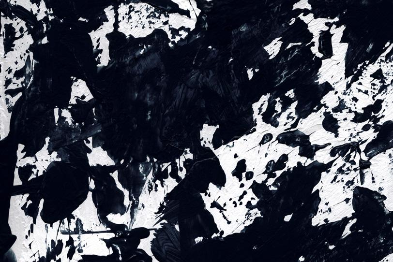 黒の背景でクールな写真
