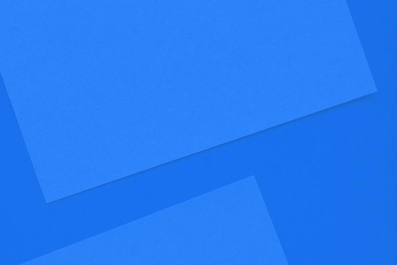 クールな青色のシンプルな壁紙