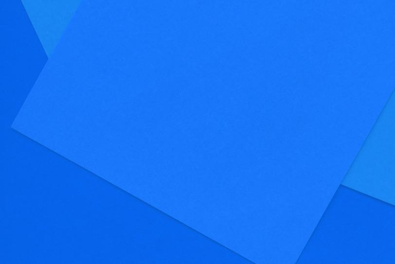 青のシンプルな無地画像