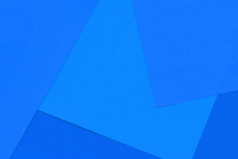 シンプルな青のおしゃれな素材