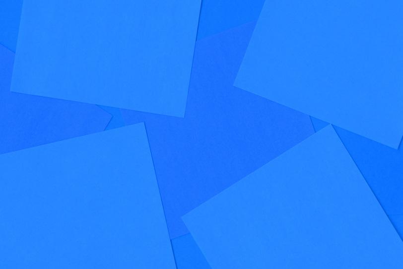 シンプルな青のフリー素材