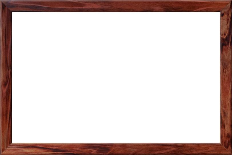 和風の木製のフレームの写真画像