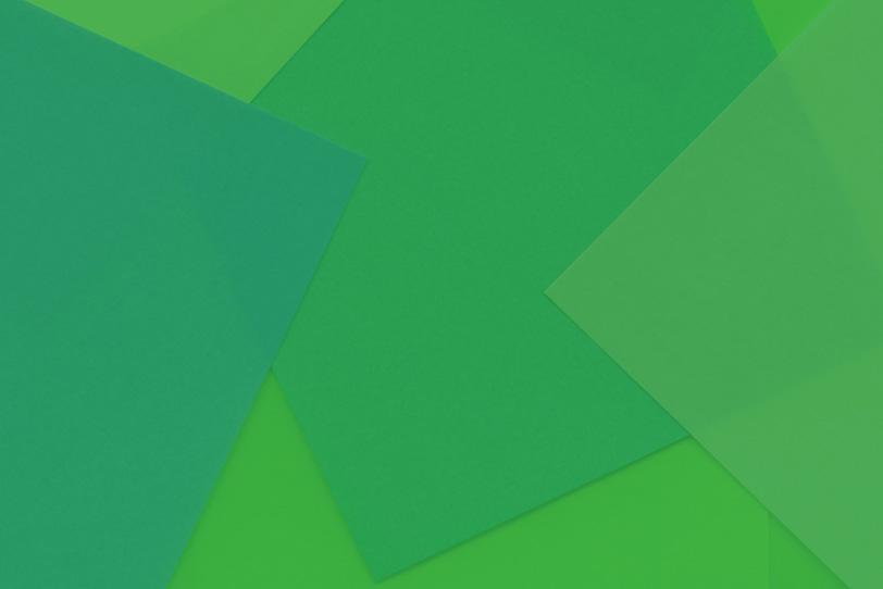 緑のシンプルでカワイイ素材