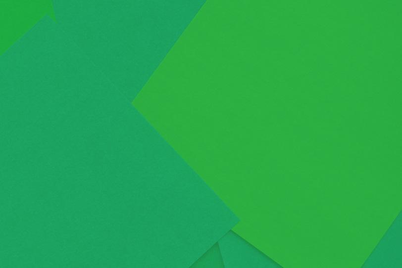 緑のシンプルでクールな写真