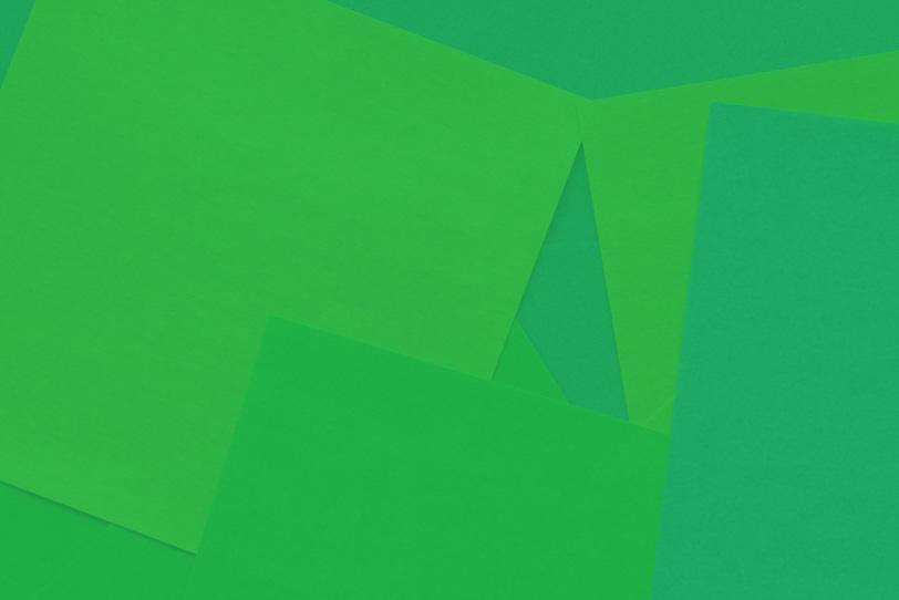 シンプルな緑のおしゃれな素材