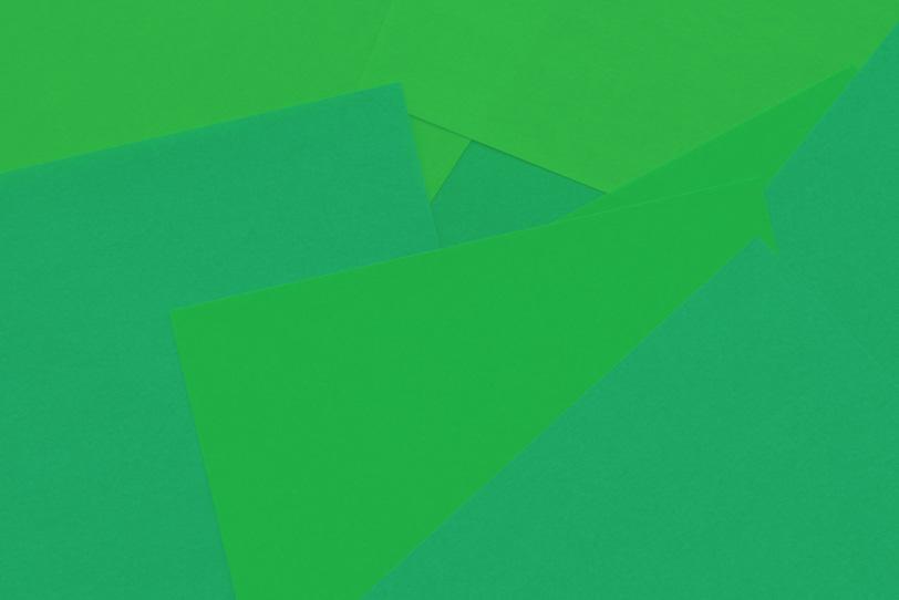 シンプルな緑の綺麗な画像